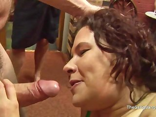 Heavy facial for slut which a guy licks missing