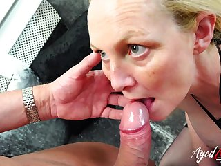 Professional pornstars Suzie Stone and Marc Kaye enjoying hardcore sexual life together