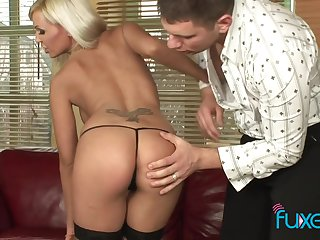 Adrianna Russo anal desire with messy facial cumeating