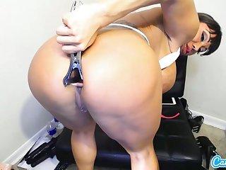 CamSoda - Ava Devine with beamy tits toys