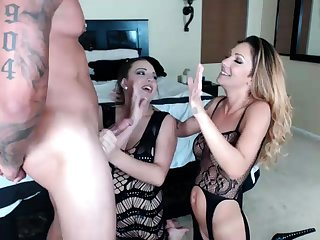 Dirty Blonde Amateur in Anal Triad Ass Concerning Brashness Blowjob