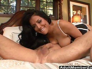 Getting her tight cunt banged everlasting makes Kiara Mia happy