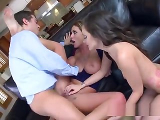 Stepfamily Shares Plumbers Big Flannel And Jizz