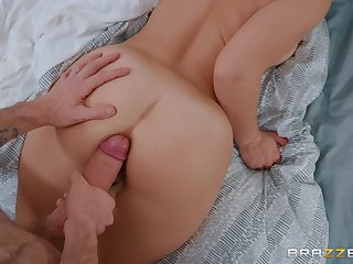 POV doggy fuck and a facial be advisable for curvy old bag Liza Del Sierra