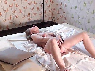 Lea and Lea Voyeur masturbation