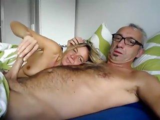 Mature wife sucks for cum on camera