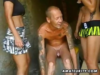 Two amateur porn whores acquire laid four guy with ejaculate