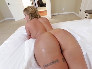 Hot MILF with immense buttocks and round special is screwed properly