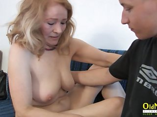 OldNannY Matured Gut Licking coupled with Hardcore Fuck