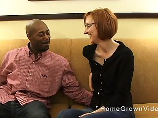 Skinny cougar has to moan while a black guy fucks say no to ass