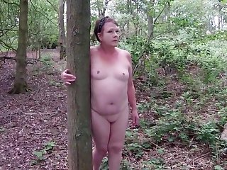 Sexy Matures Unveil Slut Walk Through get under one's Woods