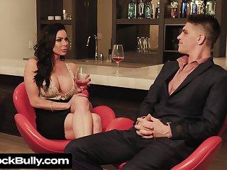 Man eating stepmom Kendra Covet seduces handsome stepson while her husbands enfranchised a business trip