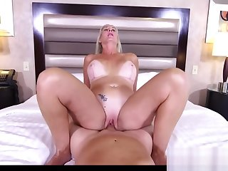 Beauty Mother Pheobe Gets Fucked Liberally Touching Step-son