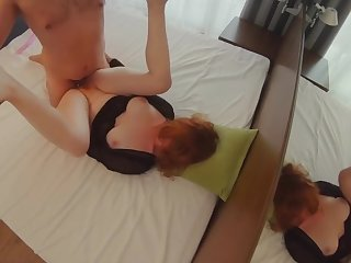 Loud Moaning Take charge Awl Sissified Orgasm  Zooid Big Natural Tits Redhead