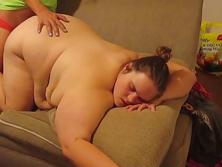 Pregnant milk filled huge titties bitch cheats alongside confining lover sucking and fucking bareback filling her pussy full of cum