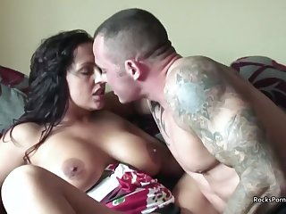 Hardcore Fucking With A Big Boobed British MILF - HD homemade with cumshot