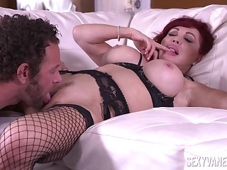 Sexy Vanessa is a lustful substantial with big bolt-ons who loves to fuck