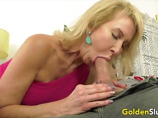 Golden Floozy - Blonde Mature Beauties Blowjob Compilation Part 3