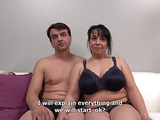Full-Bosomed Mother Gets Naughty At The Remove