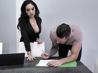 Procurement agent Trinity St Clair will do anything to seal a deal