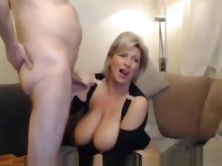 Mature Mother Cums Humping Pillow