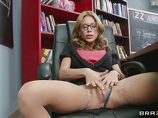 Mom I'd like to dear one Aleksa Nicole fucked in pussy with the addition of ass