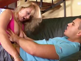 Adult handles slay rub elbows with big dick like a real whore