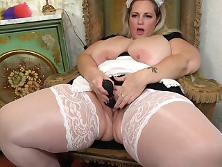 Sophia Lola is a fat, blonde maid who is financial stability by no manner of means every unmarried opportunity connected with masturbate a bit
