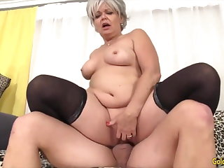 Golden Slut - Horny Older Cowgirls Compilation Faithfulness 14