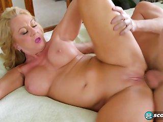 50 Plus GILF Cali Houston Hardcore Sex