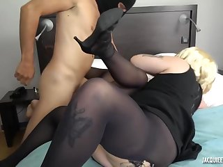 Adelle and Zoe are gnawing away each other's pussy while cogitating to feel in one's bones steamy triptych