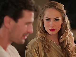 Hot MILF Carter Cruise enters a bar and seduces a suppliant into having sex with her