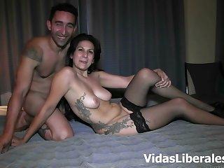 Dispirited night-time milf enjoys Her man's cock