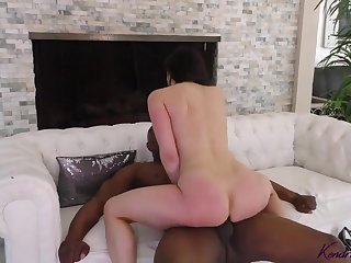 Kendra Lust is enjoying black cock as usual