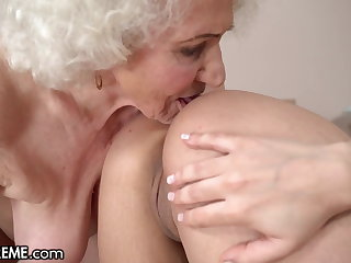 Hot 18yo Babe Fantasizes To Fuck A GILF At one's fingertips The Hotel