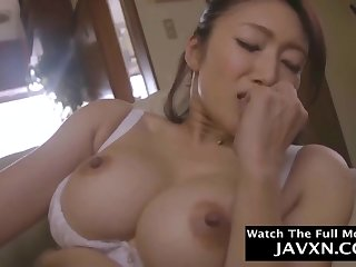 Japanese Stepmom Gets Lonely At Unlighted