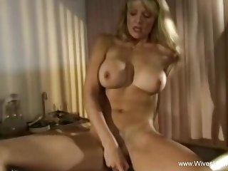 Sophisticated dwelling wife masturbates At Home While Waiting